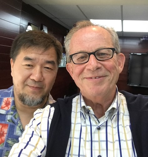 Jesse Yang, general manager, Grand Destinations (left) and Jake Steinman, NAJ's founder and CEO, in a selfie