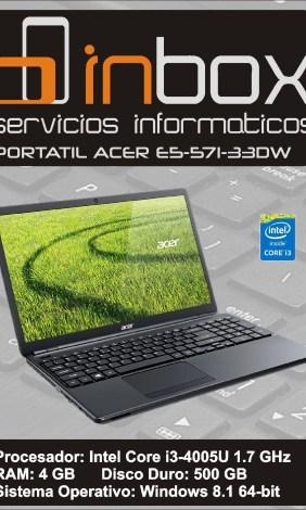 ACER E5-571-33DW