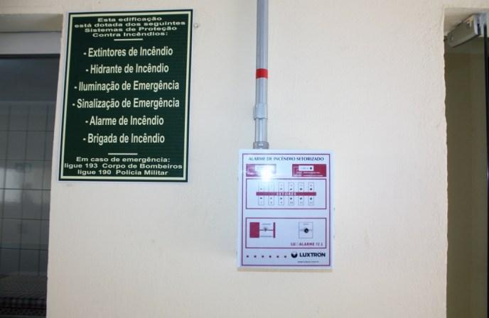 PAINEL DE ALARME DE EMERGÊNCIA INBRASEG