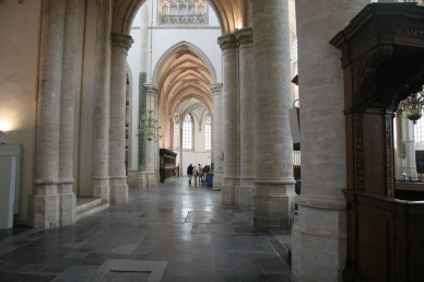 Interieur Grote Kerk Breda (foto Patrick Rasenberg)