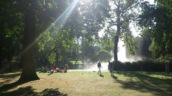Park Valkenberg in de zomer (foto Bouke Tuit)