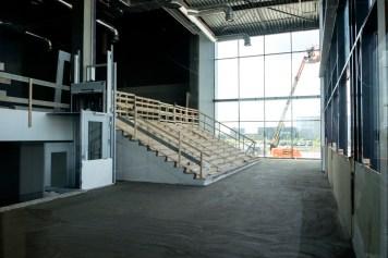 De trapopgang naar de foyer. Foto Guido van der Kroef / iizzoo