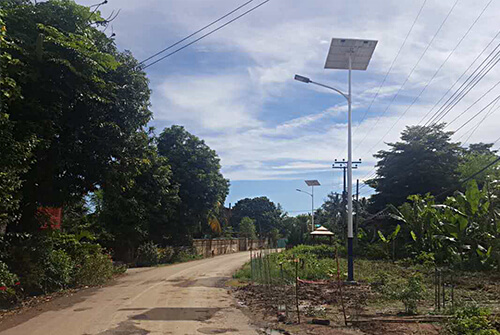 solar street light for Thaliand