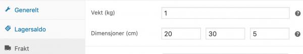 PostNord plugin til WooCommerce - utviklet av InBusiness AS