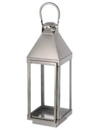 Silver Lantern - Incabella Wedding Hire