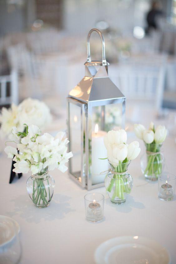 Silver Lantern  Incabella Wedding Hire