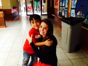 One of my students from last year! He still has my heart!