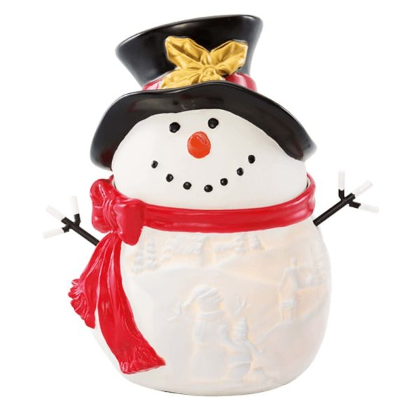 NEW! BUILD A SNOWMAN SCENTSY WARMER Scentsy Buy Online