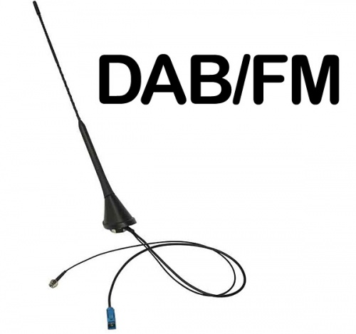 In car DAB AM FM aerial Bee Sting Roof Mounted antenna