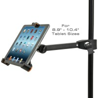 Universal Tablet Holder Clamp (Android, iPad or Tablet) To