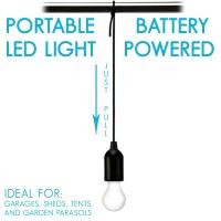 LED Ziehschnur Hngelampe tragbares Licht Garagen Schuppen