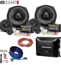 bmw audio upgrade door component speakers subwoofers amplifier wiring kit [ 1000 x 1000 Pixel ]
