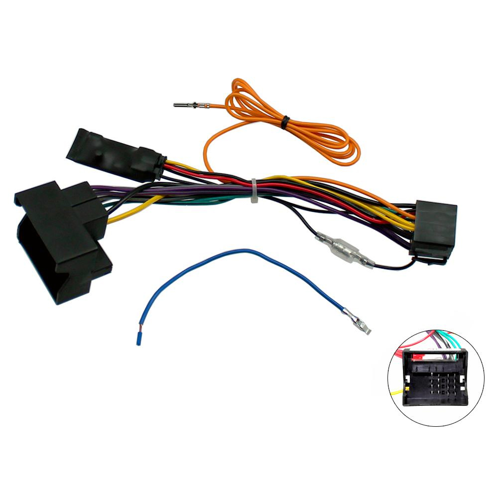 medium resolution of audi a3 8p a4 b7 tt canbus car stereo iso wiring harness w 12v can bus wiring harness