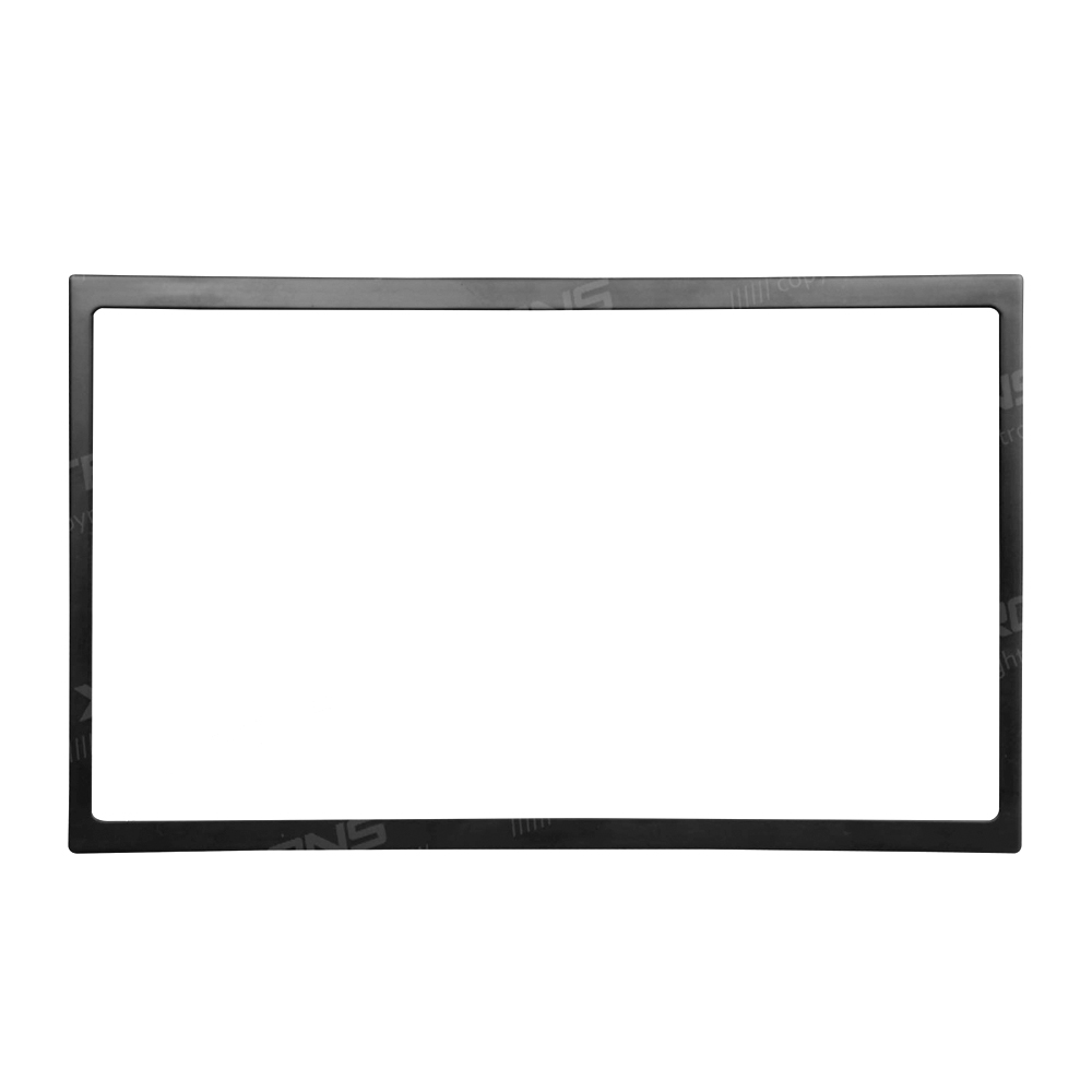 Double Din Frame Car Stereo Finishing Surround Trim For