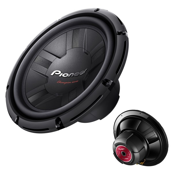 Pioneer 12 300w Rms 1000w 4 Ohms Open Free Air Car Subwoofer Bass Speaker