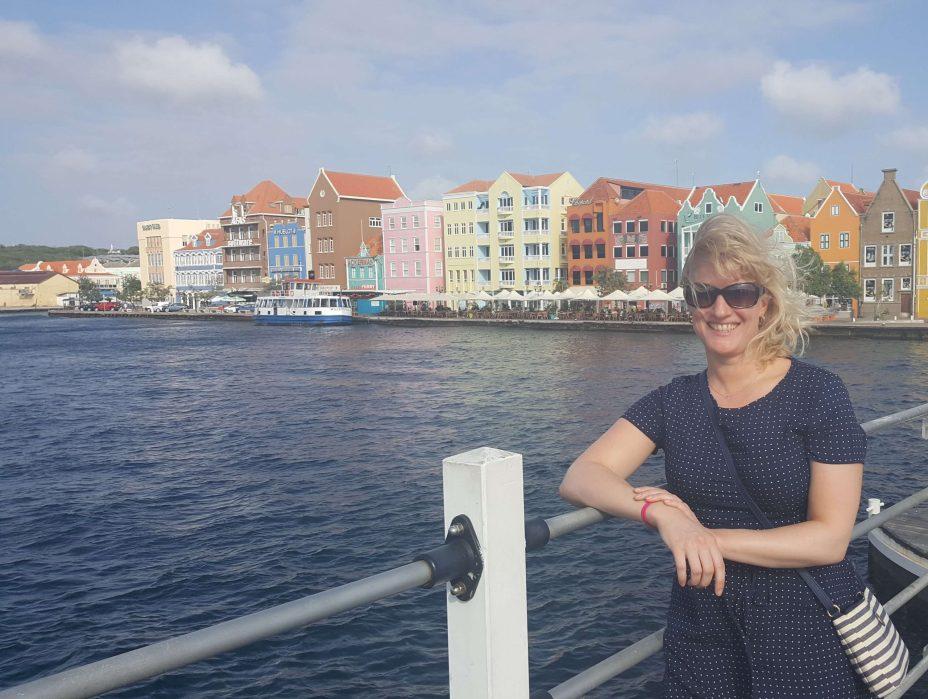 foto van mezelf in curaçao