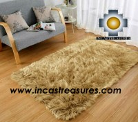 Wholesale Alpaca fur rugs,geometric,alpaca wholesale fur rugs