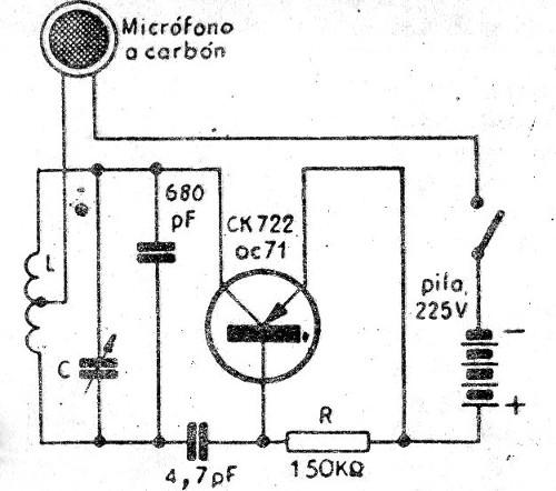 Micrófono Inalámbrico AM (CIR1290S)