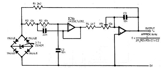 Oscilador Trapezoidal con Operacional (CIR1090S)