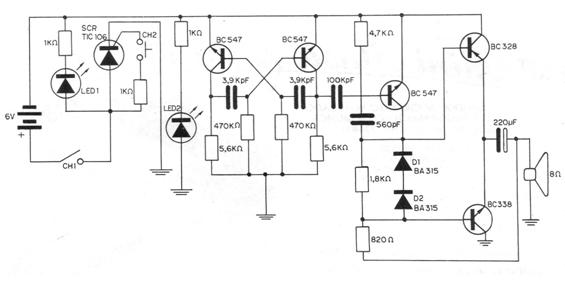 Simple Alarma contra robos (CIR2182S )