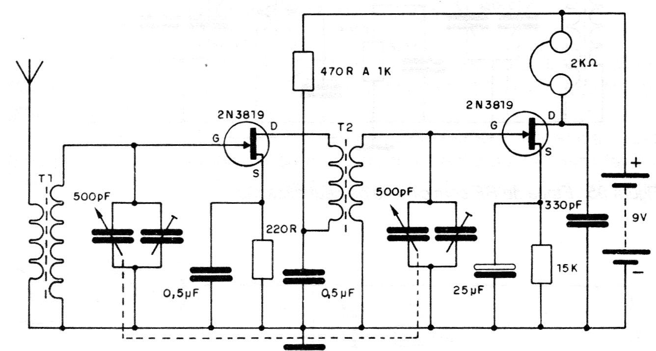Circuito Receptor con Etapa de RF (CIR5880S)
