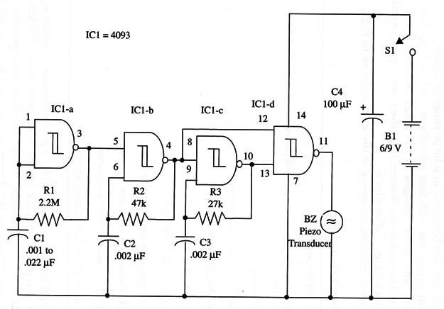 Two Tone Beeper (4093) (ART164E)
