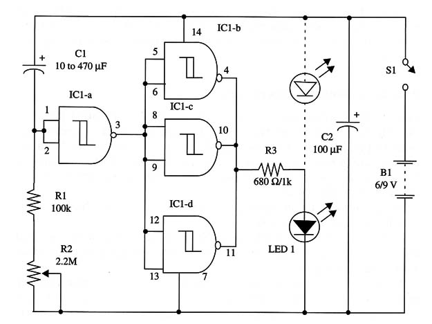 Simplest Timer Using the 4093 IC (ART181E)