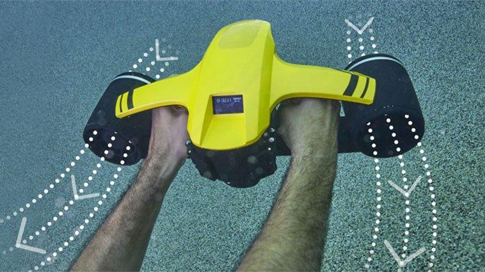 Cutting-Edge water propulsion