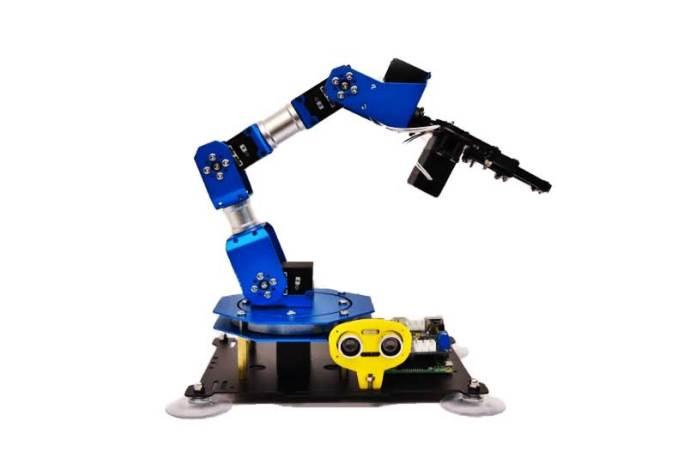 PiArm: The Raspberry Pi based DIY Robotic Arm