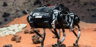 Jumping Space robot flies like a spacecraft./ Image: ETH Zurich/ZHAW Zurich