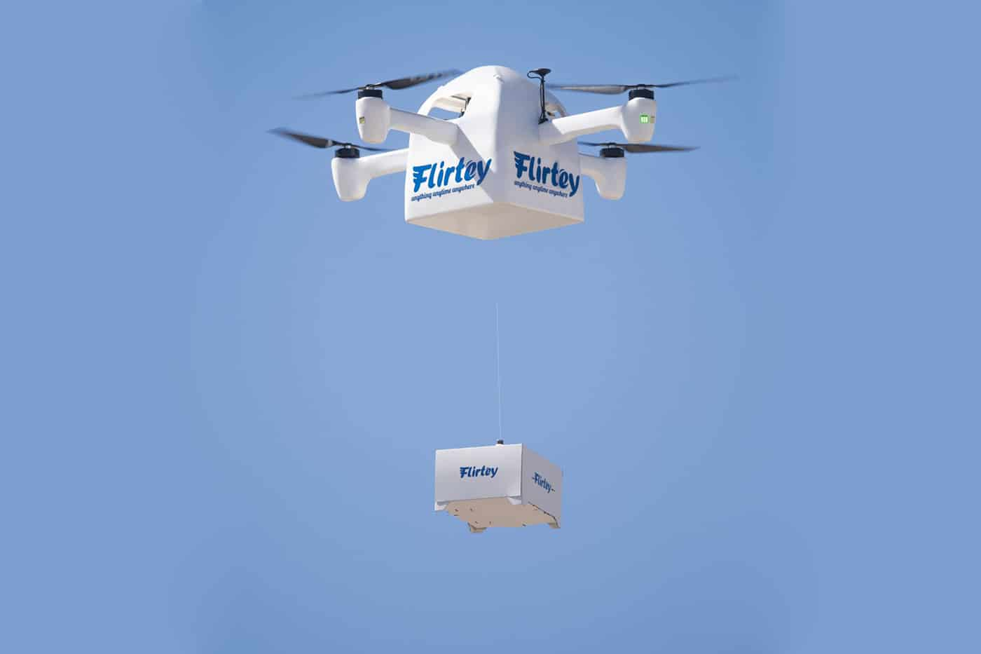 Flirtey Eagle delivery drone can deliver packages in less than 10 minutes