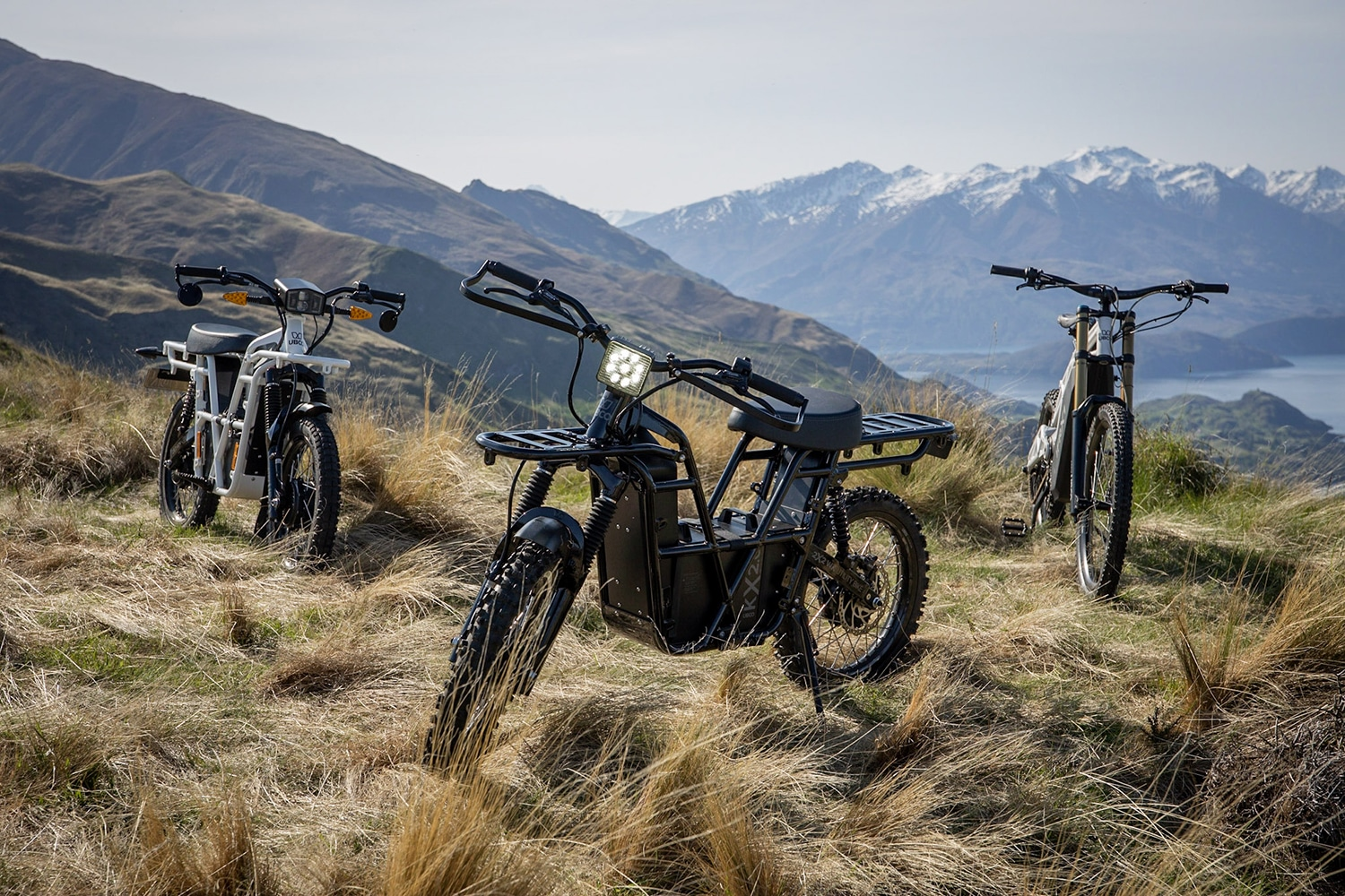 UBCO introduced its new generation of both-wheel-drive electric bikes