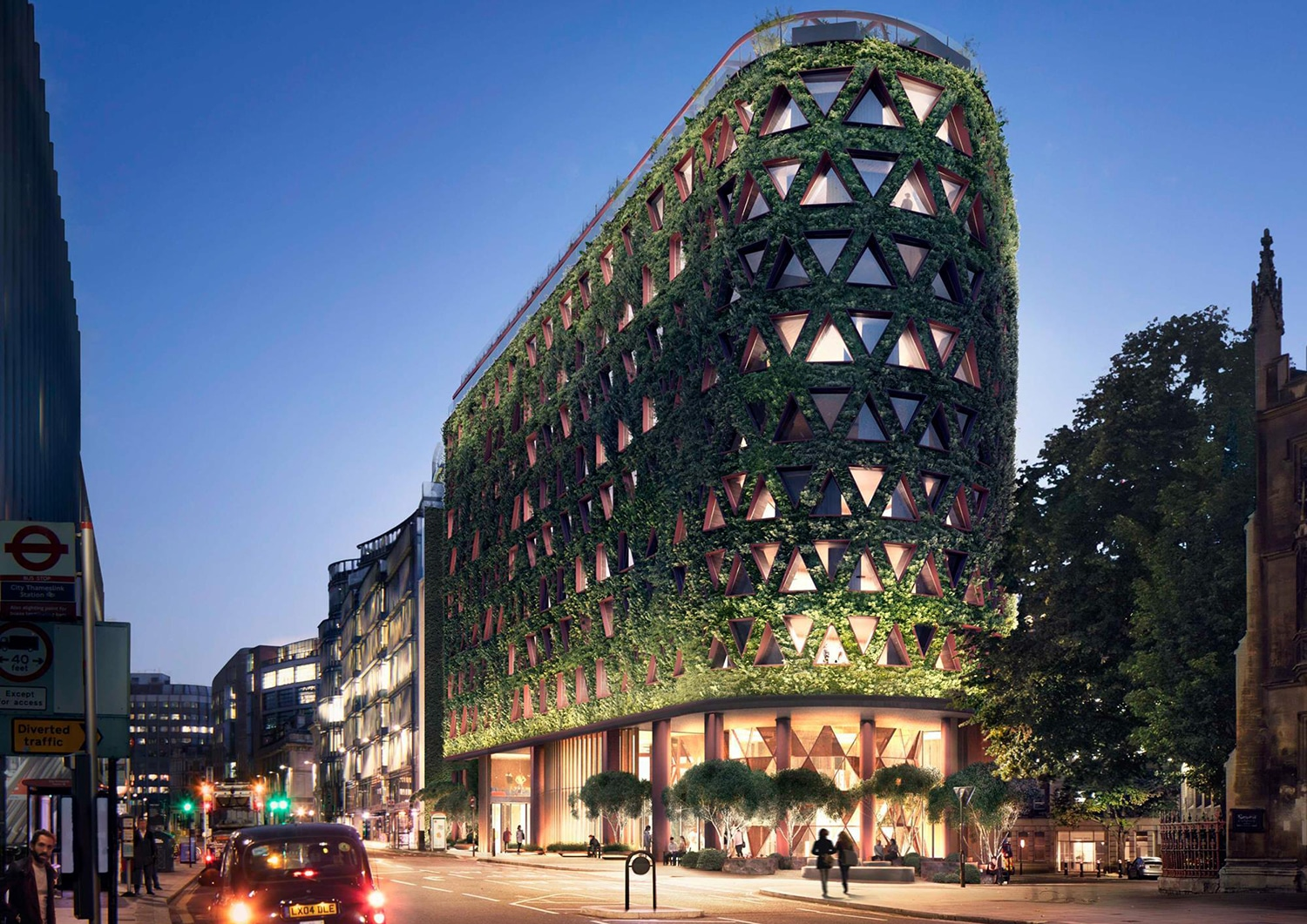 New Citicape House will annually capture eight tonnes of pollution