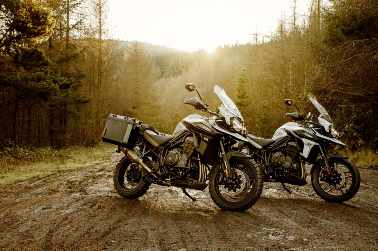 Desert and Alpine, two new versions of the Triumph Tiger 1200