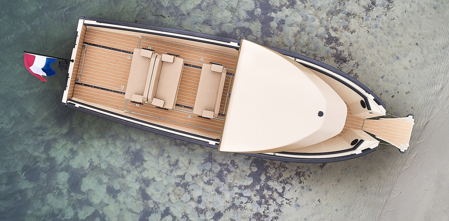DC25, the modular electric boat designed for many possible uses