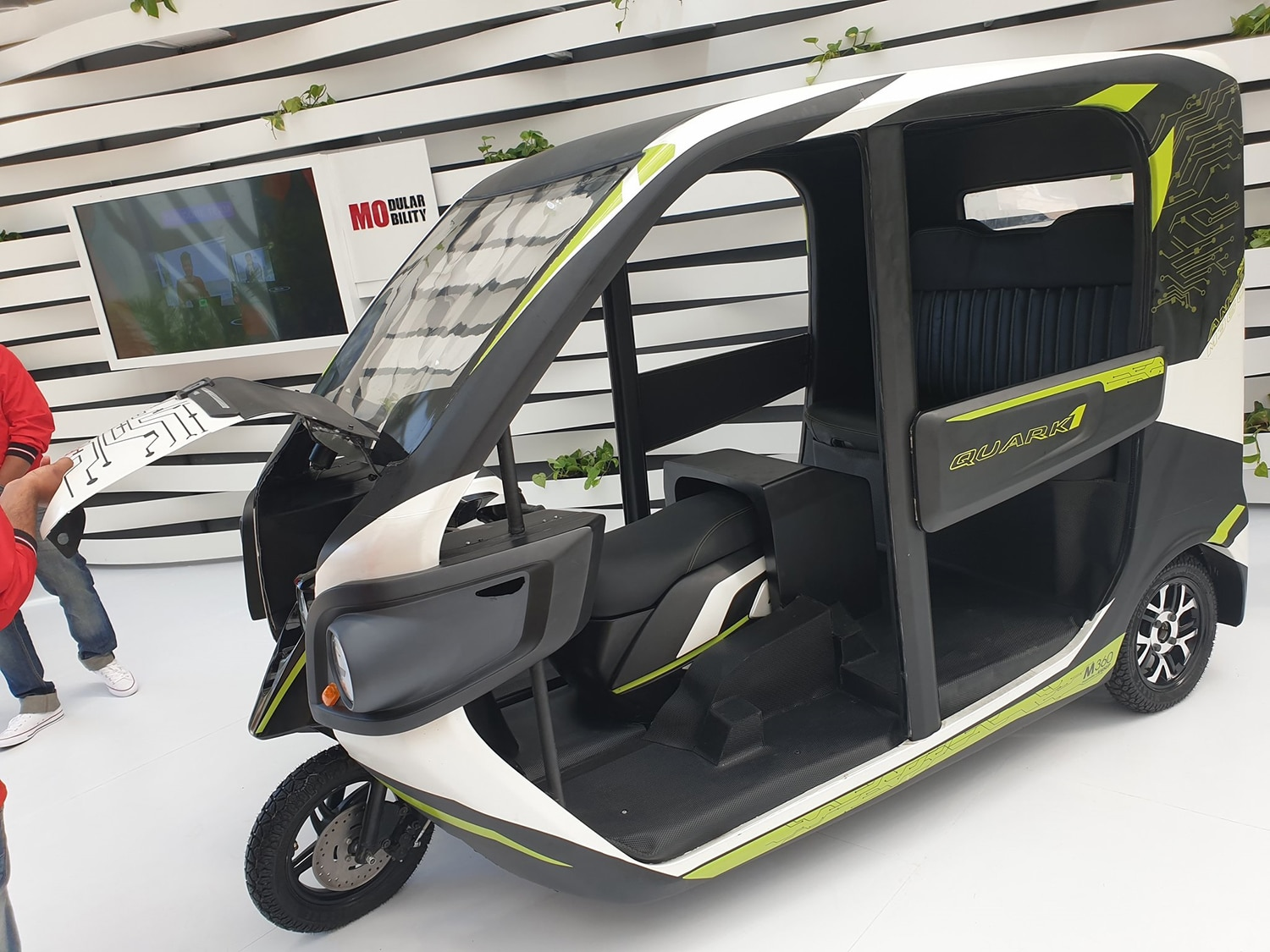Hero Quark 1, a class changing electric vehicle concept