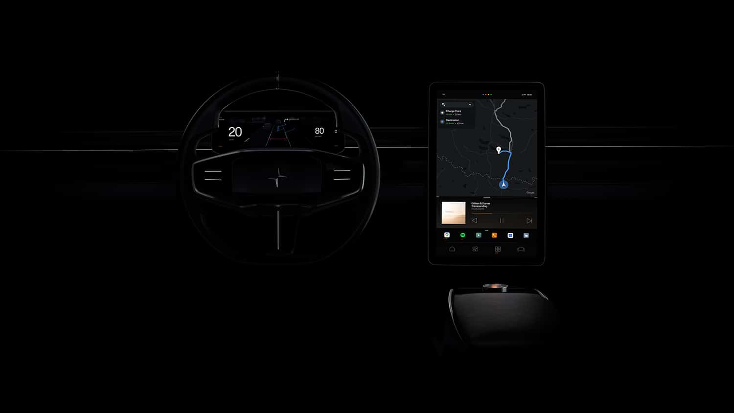 Polestar 2 will feature customizable, smartphone-like infotainment system
