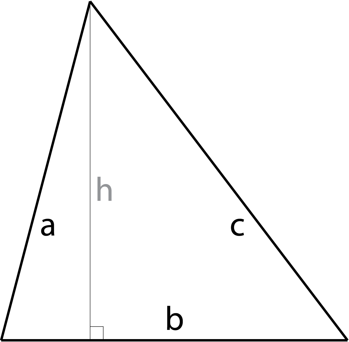 hight resolution of diagram of a triangle showing a edge a b edge b and
