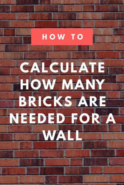 Brick Calculator  Estimate the Amount of Brick and Mortar
