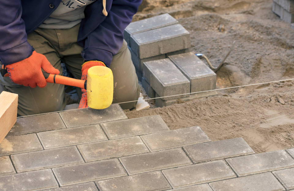 How to Install a Paver Patio  Inch Calculator