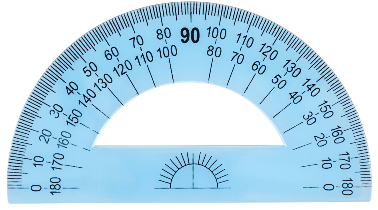 How to Use a Protractor  Inch Calculator