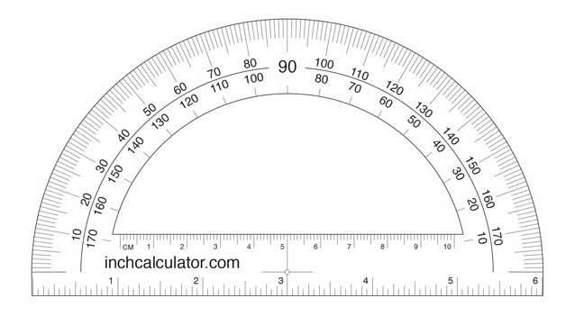 Printable 6 Actual Ruler Size
