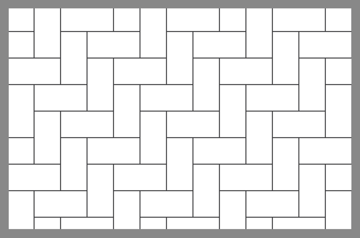 Tile and Paver Layout Patterns