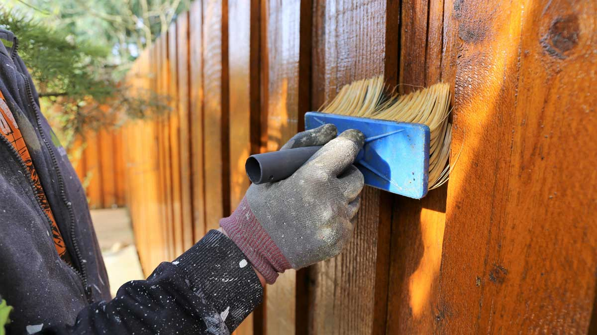 How Much Does it Cost to Paint or Stain a Fence  Inch
