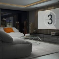 Living Room Tv Mounting Height How To Decorate A With Dark Brown Furniture High Should You Mount Your Inch Calculator Find The Right For