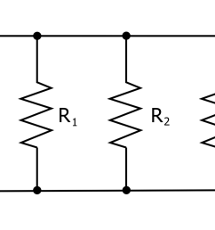 electrical circuit diagram showing resistors connected in parallel [ 2000 x 1435 Pixel ]