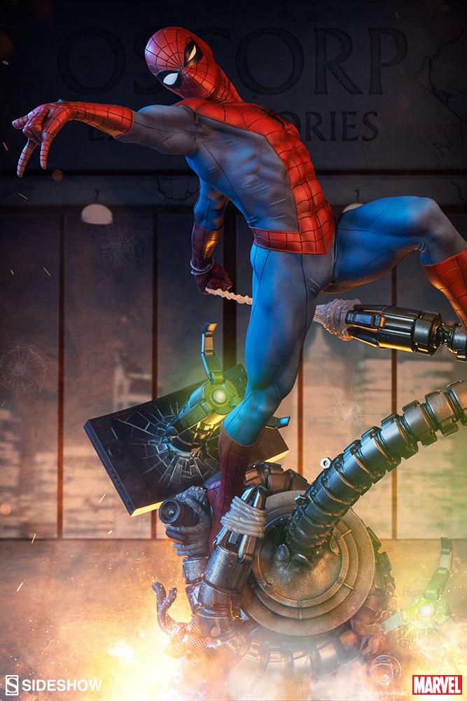 Preorder: Sideshow Spiderman PF & COTD Odium Statue | PCS