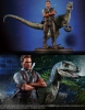 JURASSIC WORLD OWEN AND BLUE 1/9 SCALE STATUE