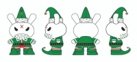"Kidrobot - Dunny 3"" Elf 40 pieces Display"