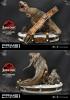 P1 Studio: T-Rex vs Velociraptors Diorama